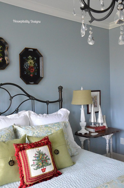Christmas Guest Room-Housepitality Designs