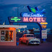 The Blue Swallow Motel - Tucumcari, New Mexico by Joel Bedford