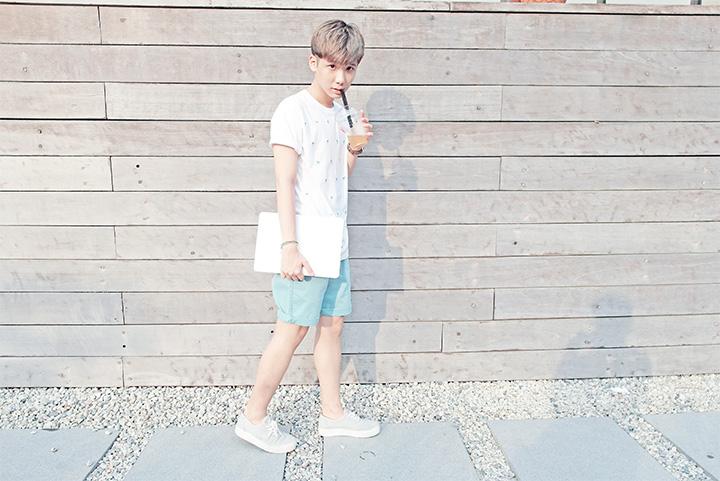 typicalben ootd shorts