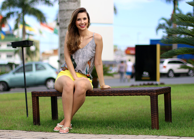 04-look do dia shorts amarelo officium blog sempre glamour