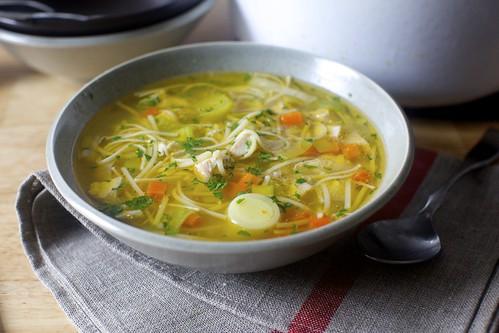 суп с лапшей фото