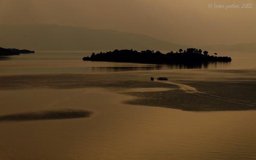 africa sunset landscape african lac rwanda bruno kivu portier brunoportier