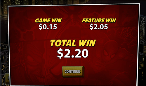 free Spider-Man: Attack of the Green Goblin Bonus Win
