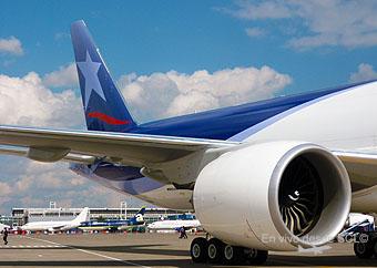 LAN Cargo B777F motor (RD)