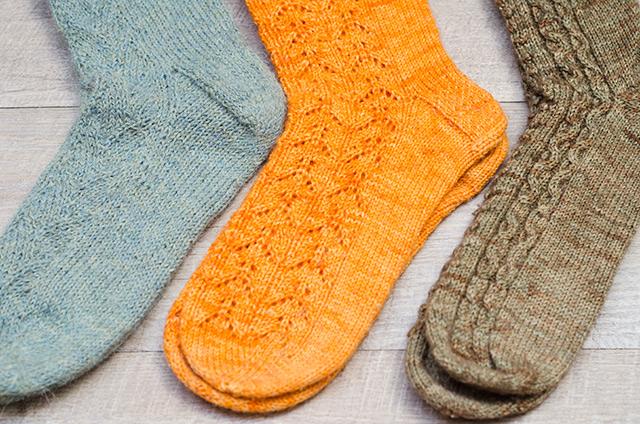 Mi colecci n de calcetines de punto wasel wasel - Como hacer calcetines de punto ...