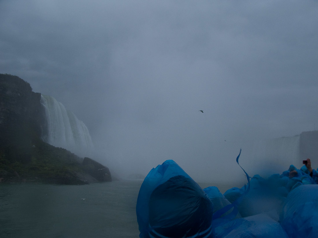 Riding the Maid of the Mist