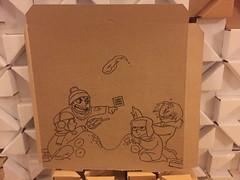 calligraphy(0.0), wood(0.0), sketch(0.0), paper(0.0), design(0.0), art(1.0), brown(1.0), cardboard(1.0), drawing(1.0), illustration(1.0),