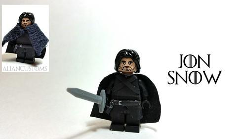 LEGO : Custom Jon Snow