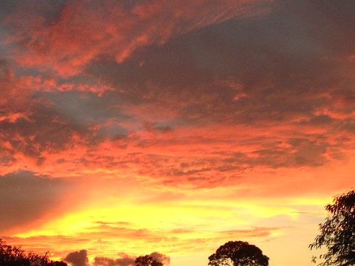 nigth sunset cape coral florida cloudy sky weather erkohl er kohl
