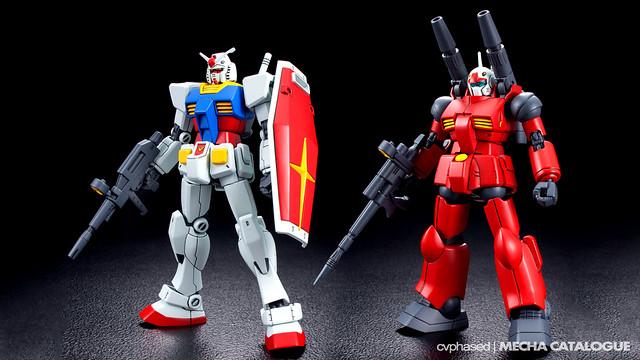 HGUC RX-78-2 Gundam & Guncannon [REVIVE Ver.]