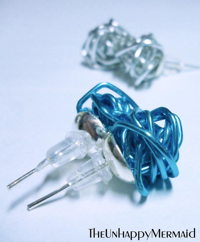 DIY Wire Earrings