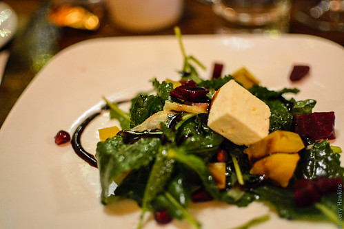 Kale Salad, Masona Grill Wine Dinner, West Roxbury
