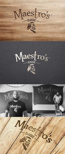 Maestro's Classic Logo & Label Design