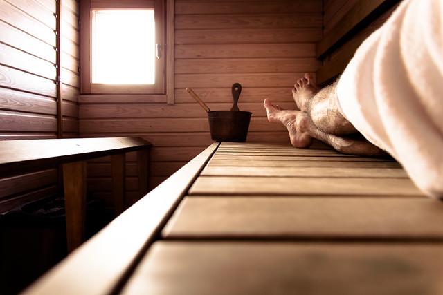 Sauna in Lapland, relax