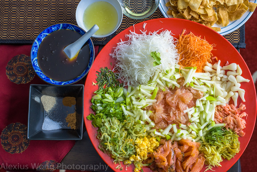 Lo Hei/Yee Sang - New Year Salad