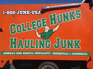 Junk for Hunks!