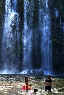 Costa Rica Girls @ Bagaces Waterfall