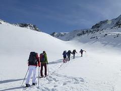 Schneeschuhwandern im Sellrain