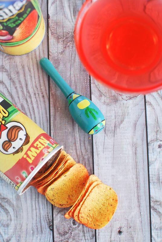 Zesty Salsa Pringles Tortillas #PringlesAirDip