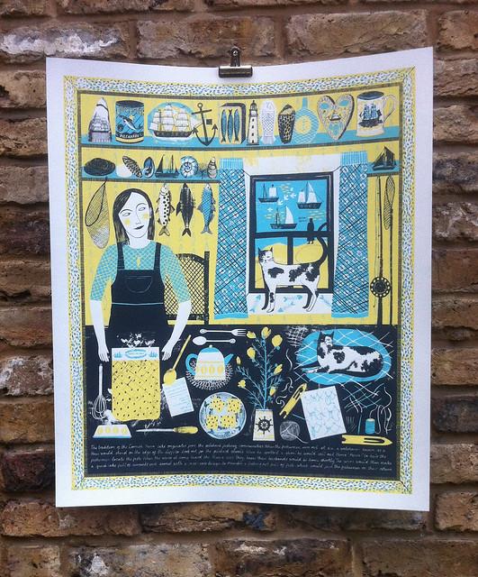 Hevva Cake Print - Alice Pattullo