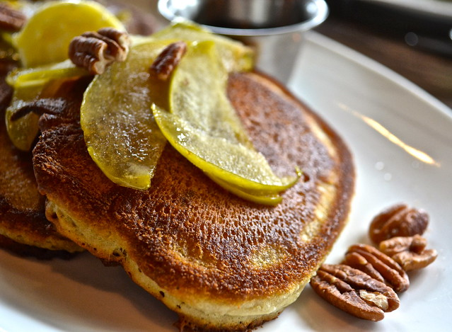 Sourdough pancakes - elevage restaurant, tampa florida