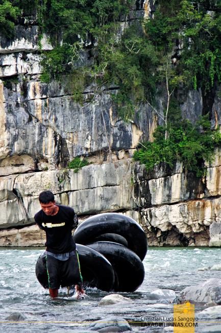 Tubing at Siitan River in Nagtipunan, Quirino