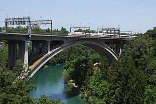 Parallelausfahrt in Bern