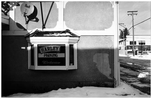 harley parking