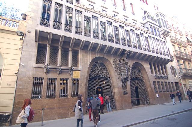西班牙 巴塞隆納 奎爾宮 Palau Guell Barcelona Spain