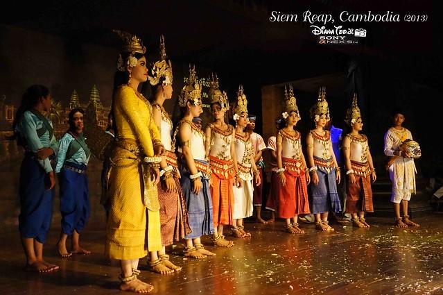 Siem Reap, Cambodia Day 3 - Apsara Dance 04