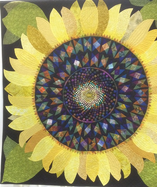 november s world sunflower quilts cover monday wall quilt ulla hanging cushion