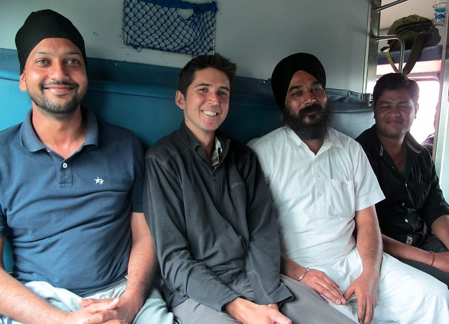 India - Train from Varanasi to Siliguri