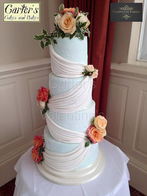 Wedding Cake by Maria Carter of Carters Cakes and Bakes