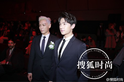 TOP - Dior Homme Fashion Show - 23jan2016 - Sohu Fashion - 04