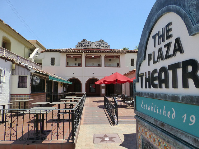 Palm Springs, CA The Plaza Theater