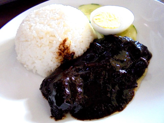 Opps beef rendang rice