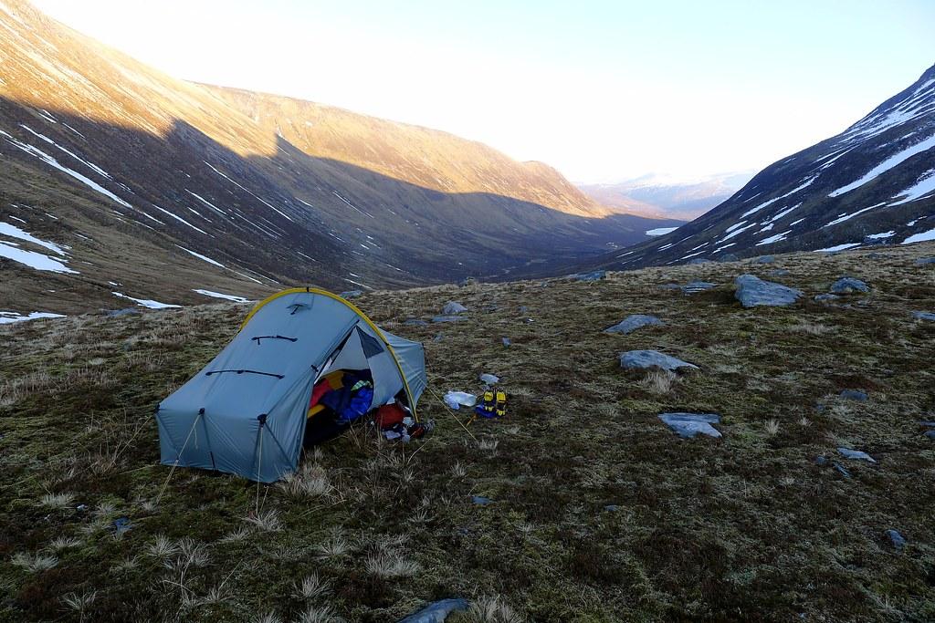 Wild camp above Strath Mhuilich