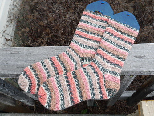 March socks, Zwerger Garn Opal