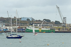 Polarcus Adira at Falmouth Docks