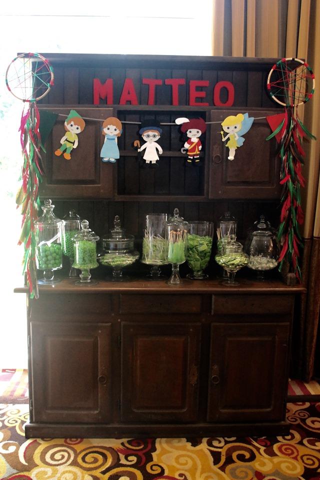 Darling cupboard candy buffet