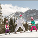 Skiing With the Easter Bunny by Photo-John