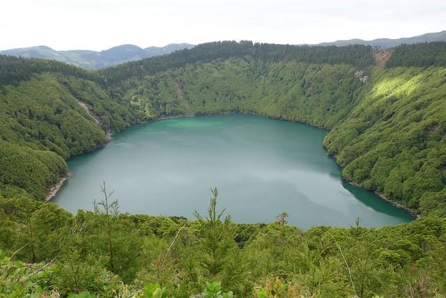 Lagoa de Santiago, Sete Cidades