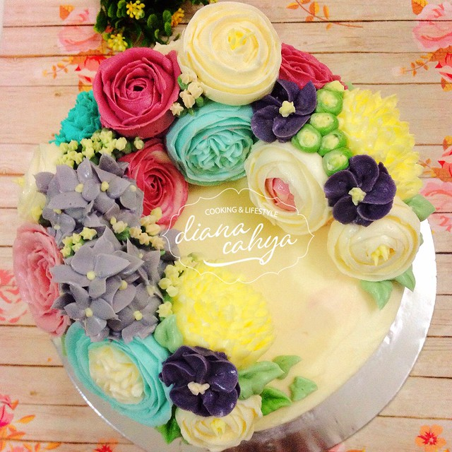 3D Flower Buttercream
