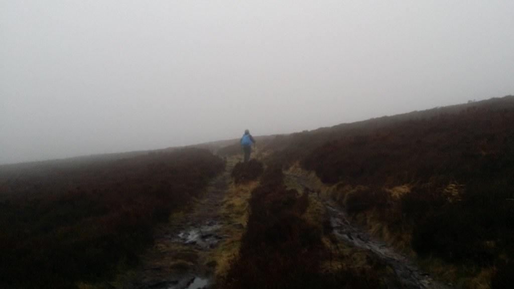 Heading back along the Cumbria Way #sh