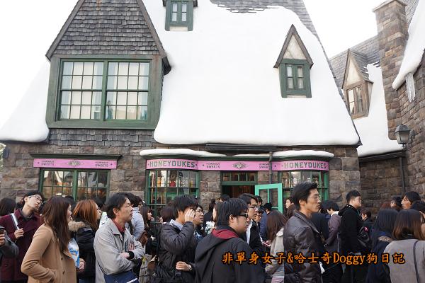 日本大阪環球影城哈利波特進擊的巨人29