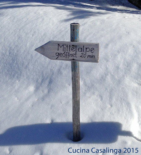 Mittelalpe Schild 2
