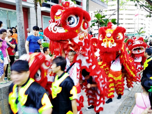 Chingay @ Heartlands 2015 - Lion Dance Along The Road