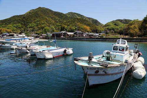 japan landscape 日本 fishingboat 瀬戸内海 漁港 fishingharbor 大島 漁船 来島海峡 愛媛県 enime 瀬戸内しまなみ海道