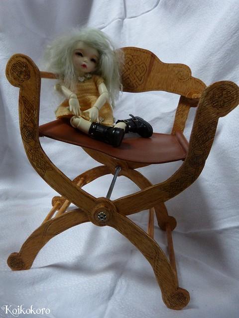 Les 3 Dames ~ meubles pour poupées : Fauteuil SD 16674907177_7300d9e0b3_z