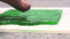 A superhydrophobic paint has been created that can coat various materials